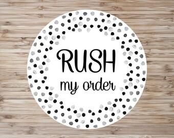 Rush My Order, Please!
