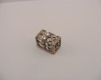 Sterling Silver handmade Bali Bead Style B432
