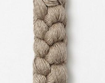 Blue Sky metalico yarn in Flint -  Baby Alpaca / Silk sport weight yarn