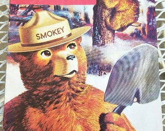 Smokey Bear – The True Story – 1969 - Comic Book Style