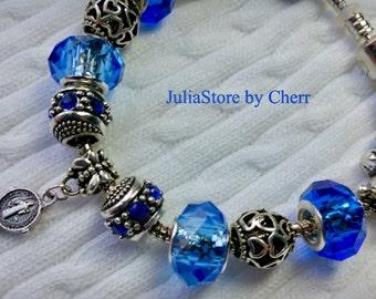European charm bracelet