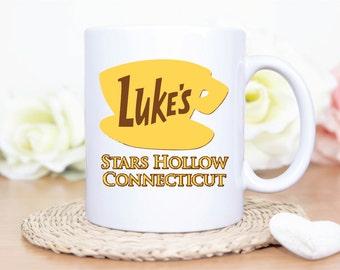 Custom Lukes Diner, Custom Luke's Diner, Custom Lukes Diner mug, Luke's Diner Mug, Lukes Diner Coffee Mug, Gilmore Girls Coffee Mug