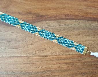 Bracelet beads woven Amazon