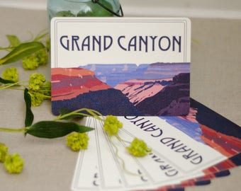5x7 FLAT Grand Canyon Wedding Table Number // Grand Canyon National Park  - BP1