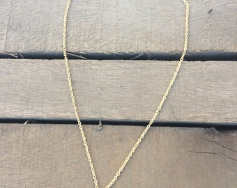Blue Quartz Gemstone Necklace