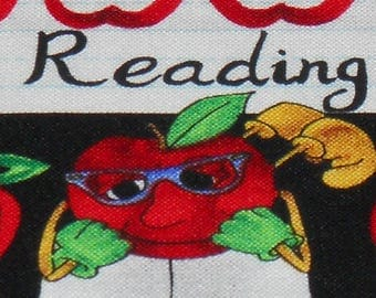 Teacher Inspired Reading ,Writing and Arithmetic By Timeless Treasures Fabric.