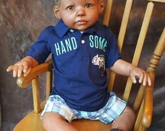 Custom AA reborn child/toddler Chanelle (made into a boy) ~Mia Maria's Nursery~