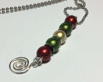 Miracle Beads Holiday Necklace