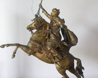 Jean Baptist Belloc rider Moroccan