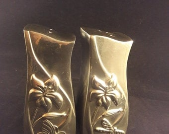 Lenox Vintage Silver Tone Salt and Pepper Shakers