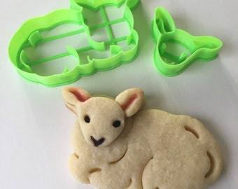 Little Lamb Cookie Cutter Set