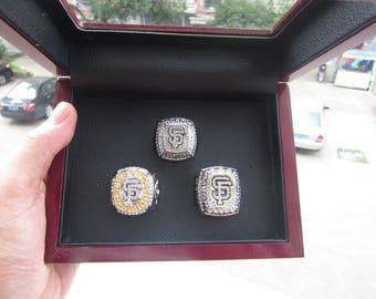 San Francisco Giants - World Series Championship Rings [3 Ring Set]