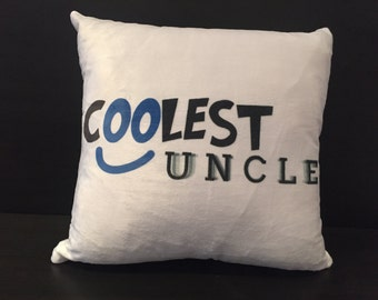 Coolest Uncle Cushion