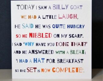 Billy Goat Etsy