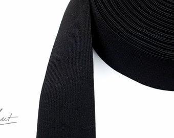 2m rubber tape - 50 mm - black (2,75 EUR / meter)