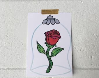 Enchanted Rose Print