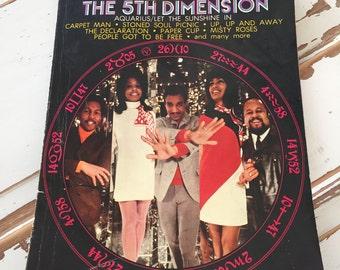 Vintage 1969 The Age of Aquarius 5th Dimension SheetvMusic Book
