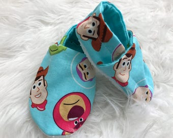 Toy Story baby booties