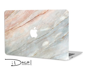 """Marble macbook decal macbook skin macbook sticker for Macbook Air 11, Macbook Air 13 & Mac Pro 13 Retina, Macbook 12"""", Macbook Pro 15 Retina"""