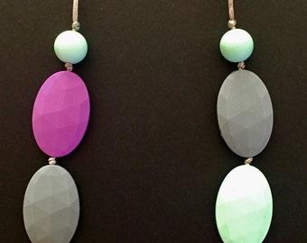 Silicone teething / sensory necklace