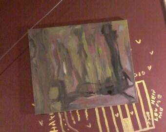 """Untitled acrylic 24""""×20""""."""