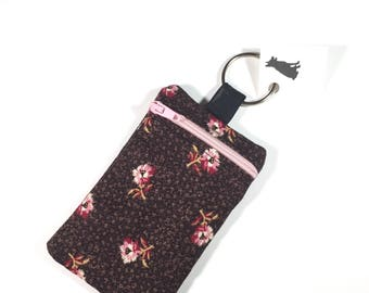 Flower Coin Purse Keychain