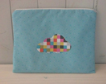 cover sleeve for tablet or ipad 28 cm wide x 24 cm high