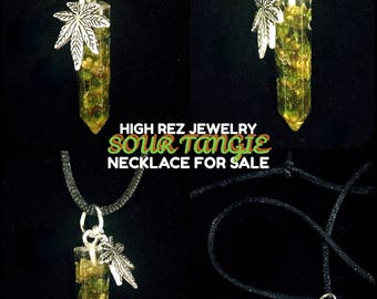 Sour Tangie High Rez Jewelry Necklace