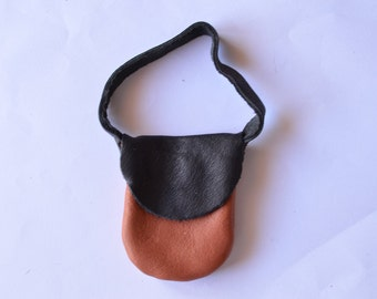 bag for dolls (brown and black)