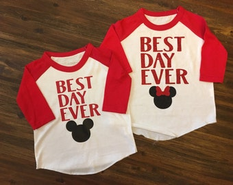 Disney Shirt, Best Day Ever, Disney, Kids Disney Shirt, Matching Disney Shirts