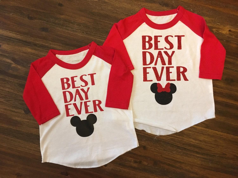 disney shirt best day ever disney kids disney shirt. Black Bedroom Furniture Sets. Home Design Ideas