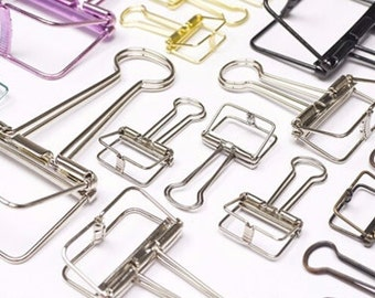 Planner Clips Binder Clips Paper Clips