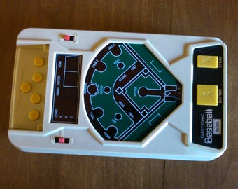 Vintage Electronic Baseball Game -- Sears #65094-- 1980-- In Perfect Working Order.