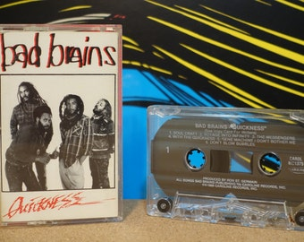 Quickness by Bad Brains Vintage Cassette Tape