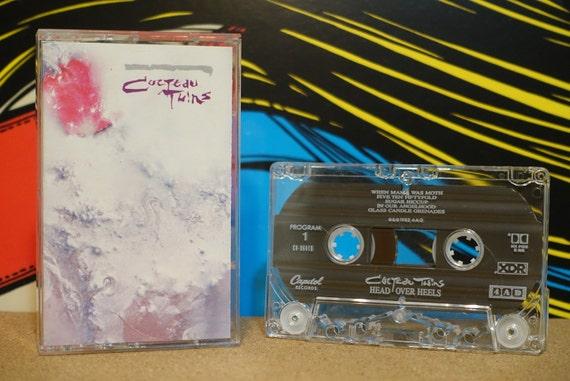 Head Over Heels by Cocteau Twins Vintage Cassette Tape