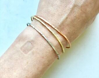 Rose gold bracelet, copper bracelet, rose gold bangle, copper bangle, rose gold bangle bracelet, copper bangle bracelet, bracelet set