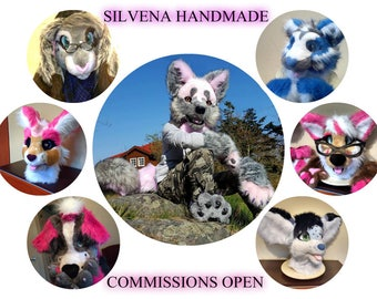 Fursuit partial commissions  open