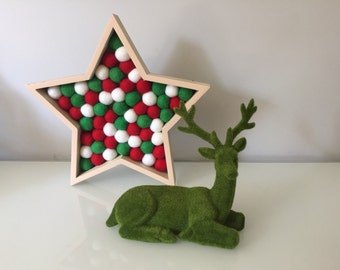Christmas Star / Christmas Decoration / Wreath / Christmas Decor