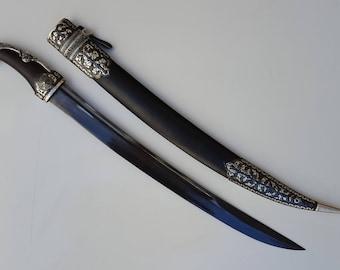 Russian Caucasian Dagger Kindjal Knife Sword Shashka Shamshir Man's Gift