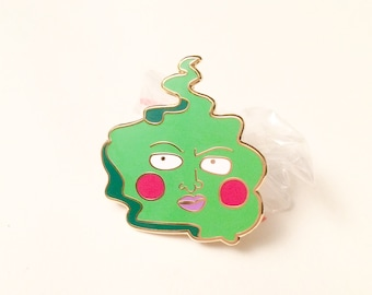 Dimple Enamel Pin (Mob Psycho 100)