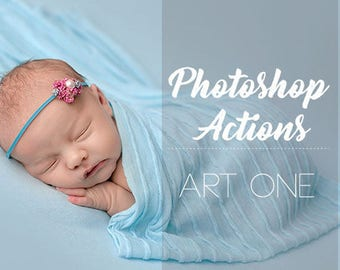 Photoshop Actions - Newborn, Maternity & More!