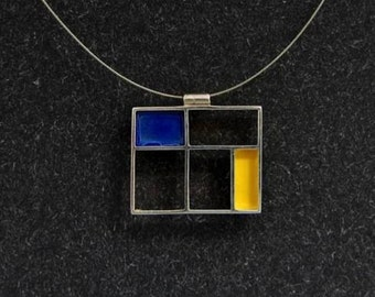 Petit Mondrian necklace