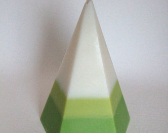 Pentagon Soy Wax Candle, Coconut Lime Scented