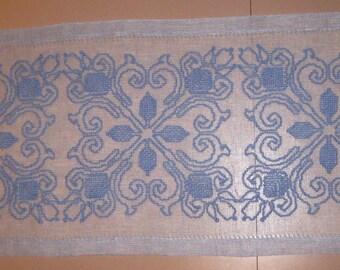 Blue Flower Centerpiece