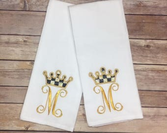 Crown Towel Set