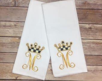 Crown Towel Set
