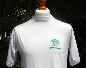 Vintage Guadeloupe Short Sleeved T-Shirt - Size Large