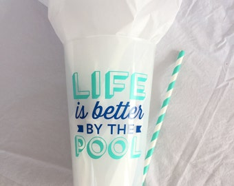 Pool Life Party Cup
