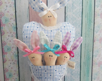 Hanging Decoration - Easter Funny Bunnies