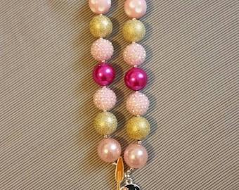 Moana inspired child's chunky bead necklace